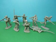 CTS 1/32 scale ACW Confederate Infantry x8 (grey)