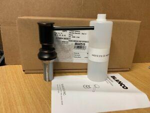 blanco empressa oil rubbed bronze soap and lotion dispenser