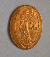 National Wwii Museum elongated penny La Usa cent War Is Over souvenir coin