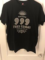 Tres Comas Tequila Sillicon Valley HBO Pied Piper Shirt Mens Size XL