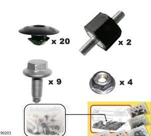 Unterfahrschutz Einbausatz Unterboden Repair Kit CLIPS VW Sharan ´95-´10 90203