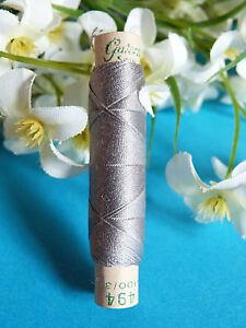 811B / Superb Coil Silk Natural Gutermann Silk Laska Grey N° 494