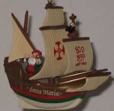 Hallmark Keepsake Ornament Santa Maria - Christopher Columbus Ship