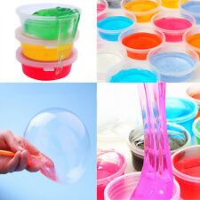 1piece Non-toxic Blowing Bubbles Crystal Mud Clay Can Draw Slime Funny Toys