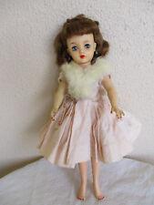 Fantastic Miss Revlon 1950's IDEAL Doll VT18 Pink Brocoade Dress Fur Wrap More