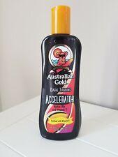 Australian Gold Dark Tanning Sun Bed Accelerator Lotion 250ml Vitamin A & E