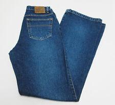 Polo Jean Company Ralph Lauren Flare Blue Jeans Dark Wash Size 10 x 33
