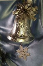 Vintage Wall Decor: Silver Christmas Bell. #2406.