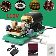 110V 380W Pearl Beads Drilling Holing Machine Driller Jewelry Punch Tools Set