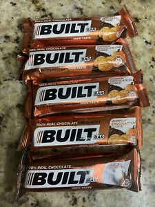 Built Protein Bars - Pumpkin Chocolate (4) & (1) Chocolate,  ~ 5 Count