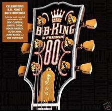 B.B. KING - 80 CD ~ BLUES GUITAR~ERIC CLAPTON~VAN MORRISON~ELTON JOHN~BB *NEW*