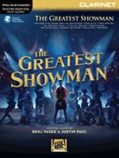 The Greatest Showman Instrumental Play-Along Series for Clarinet New 000277390