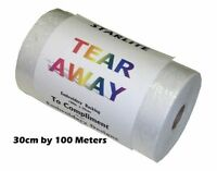 Starlite Tear Away Embroidery Backing Paper Stabilizer, 30cm Wide, Free Post!