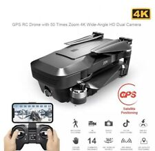 ••NEU Drohne 4K und Ultra HD mit 2 Kameras - Quadcopter mit GPS und Tasche••