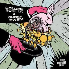 Golden Gorilla & Ghost Of Whem - Cruel Suprises Split LP GRIEF THOU LOSS BSON