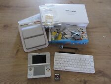 Nuevo Nintendo 3DS Edición Blanca embajador Teclado Inalámbrico placas Smash Bros