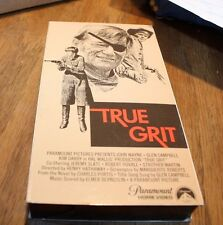 VHS True Grit