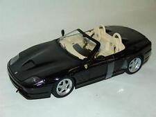 MATTEL HOT WHEELS N2055 FERRARI 550 BARCHETTA PININFARINA model car black 1:18th