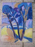 huile sur panneau Marseille signé tres belles couleurs