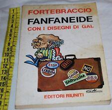 FORTEBRACCIO - FANFANEIDE - Editori Riuniti - libri usati