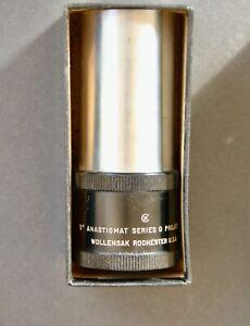 "Lens,Projector,Wollensak,4 - 1/2 ""--Anastigmat Series 0, Rochester USA."
