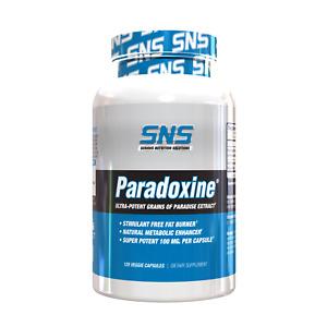 SNS Paradoxine (120 Capsules) Stimulant Free Fat Burner