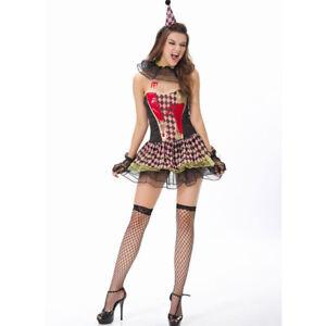 Zombie Circus Clown Costume