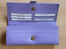 Leather Women Girls Ladies clutch, wallet, purses with card slots