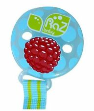 NEW RAZBABY RAZ-BERRY TEETHER HOLDER BLUE