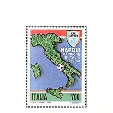1990 italia Repubblica napoli campione di calcio serie nuova MNH**