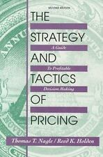 Strategy and Tactics of Pricing: A Guide to Profitable Decision Making (College
