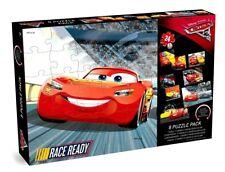 8 Puzzle Pack Box  Cars 3 - (5 Jigsaw, 2 Floor & 1 Lenticular), Rust-eze, Dinoco