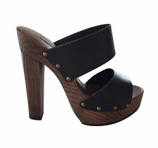 Siren High (3 in. and Up) Leather Platforms & Wedges Heels for Women