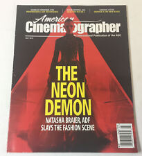 AMERICAN CINEMATOGRAPHER July 2016~ THE NEON DEMON,ORANGE IS THE NEW BLACK