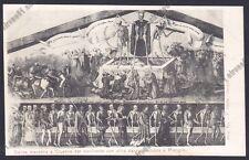 BERGAMO CLUSONE 66 DANZA MACABRA - VAL SERIANA Cartolina primi '900