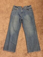 Men's Machine Brand Denim Jeans - 34W 31L - Relaxed 100% Cotton