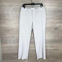 Coldwater Creek Women's Size 12 Bootcut Leg Dress Pants Gray Natural Fit NEW