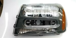 Driver Headlight Notched Full Width Grille Bar Fits 02-09 TRAILBLAZER 73967