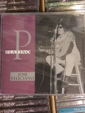 José Feliciano ‎– Serie Platino - 20 Exitos NEW Sealed CD Jose Greatest Hits