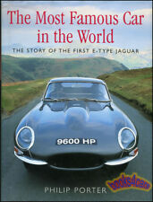 JAGUAR XKE E-TYPE MOST FAMOUS CAR IN WORLD BOOK STORY OF FIRST E TYPE 9600HP 3.8
