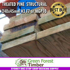 TREATED PINE  STRUCTURAL  240x45mm H3 F7 or MGP10