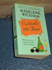 Cocktails for Three by Madeleine Wickham paperback 0312983697