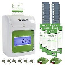 Reloj De Tiempo Para Negocio Empresas Fabricas Restaurantes Oficina Pantalla LCD