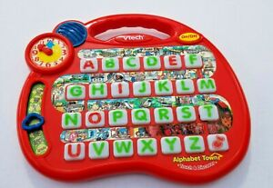 VTECH Electronic ALPHABET TOWN 8 Activities Learning Interactive Toy