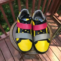 US Size 7.5 PUMA by MIHARA YASUHIRO yellow black red blue 352314 04 authentic