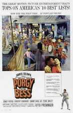 PORGY AND BESS Movie POSTER 27x40 B Sidney Poitier Dorothy Dandridge Sammy Davis