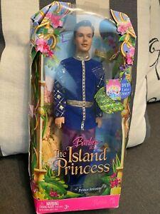 Mattel 2007 Island Princess Barbie Ken Doll as Prince Antonio CAUCASIAN NEW NRFB