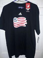 New England Revolution Major League Soccer Adidas Revs T-shirt MLS NEW - XL