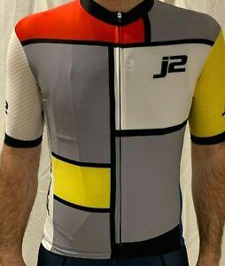 J2Velosport Retro Cycling Jersey, Sizes M-XL