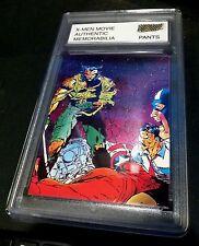X-MEN Authentic MOVIE Memorabilia ROGUE Worn JEANS W/ Encased Card #26 CERTIFIED